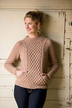 Ravelry: Ropemaker Pullover pattern by Ashley Rao