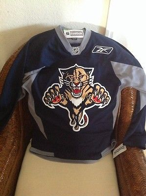 Florida Panthers Hockey NHL Jersey Reebok New With Tags  Size S Men's