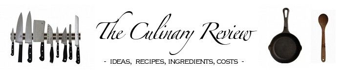 The Culinary Review... So many fabulous recipes! i think my turkey recipe came from here, and it's to die for....