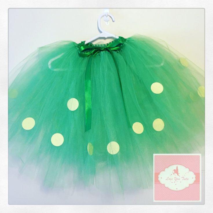 3/4 length dotty Tutu skirt