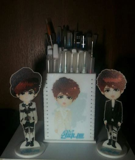 Experiment - INFINITE Stuff  Standing Pencil Box - COMING SOON to Sell IDR 150.ooo (17 USD)