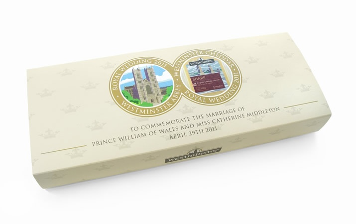 Packaging to commemorate the Royal Marriage