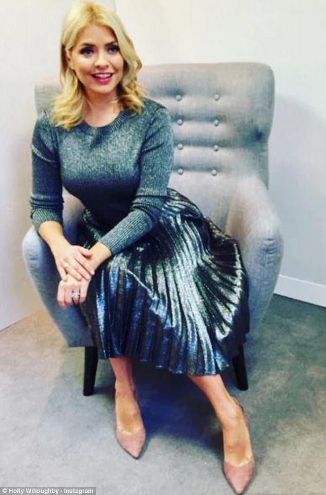 a1968749e5 How Holly Willoughby's eclectic wardrobe has captured the nation ...