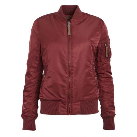 Blouson Bomber MA 1 bordeaux Alpha Industries