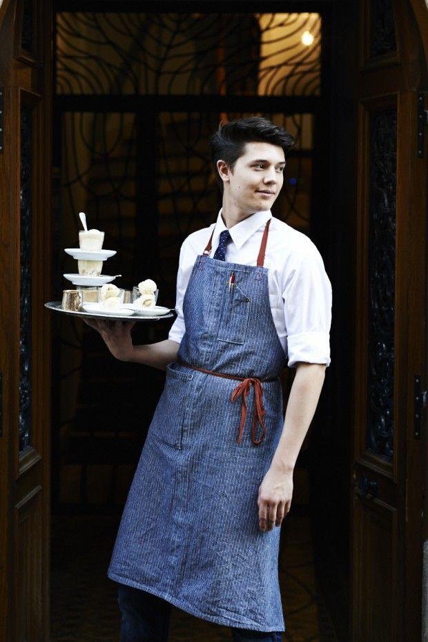 Meet Gabriel Galand, a Talented Waiter at Buvette Paris -