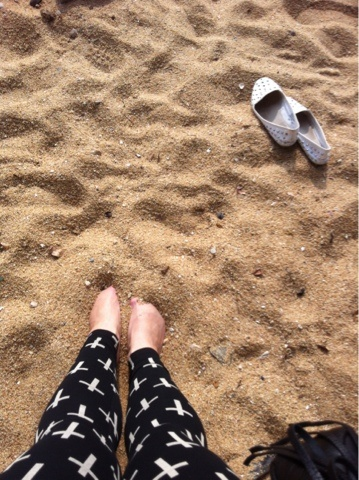 Stanley #HK #beach #sand #shoes