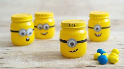 9 Espectaculares manualidades para reciclar frascos de gerber ~ lodijoella