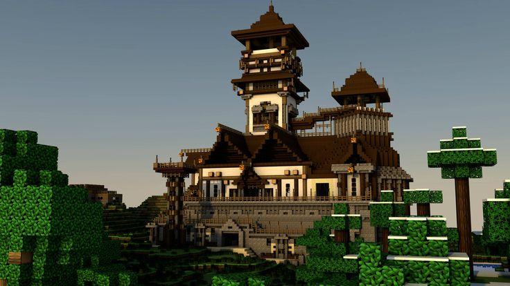 Mine craft on Pinterest | Minecraft, Minecraft Castle and ...