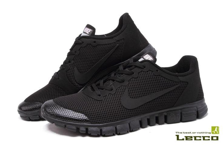 Обувь Мужские кроссовки Nike Free 3.0 v2 All Black
