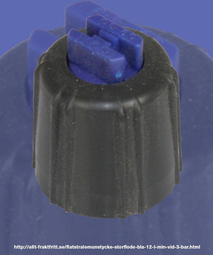 Flatstrålemunstycke storflöde blå, 1,2 l/min vid 3 bar - 1,2 l/min vid 3 bar till Vermorel ryggsprutor.   Detta är samma munstycke som medföljar sprutan vid köp.