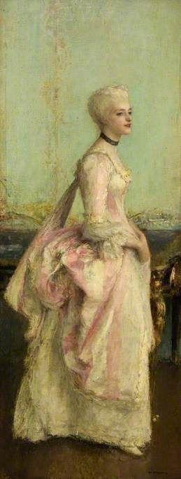 Portrait of a Lady  Pascal Adolphe Jean Dagnan-Bouveret (1852–1929)  Glasgow Museums Resource Centre (GMRC)