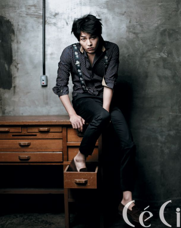 Song Joong Ki CéCi Korea Magazine January 2012