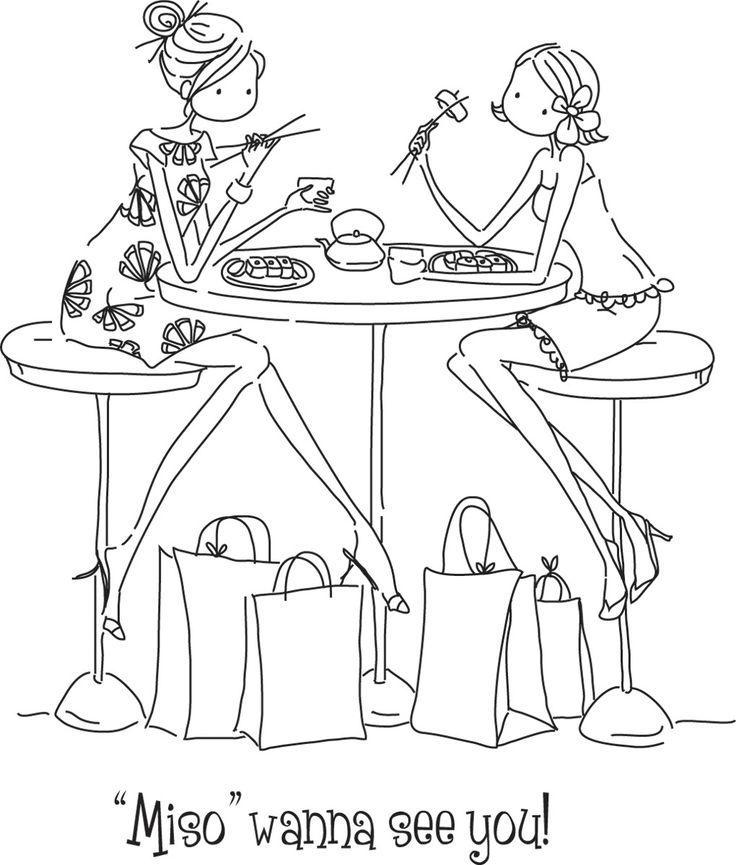 amigas cenando                                                                                                                                                      More