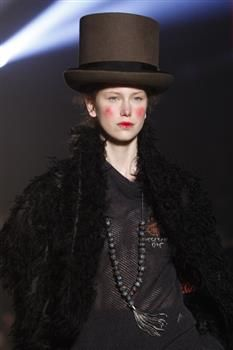 Hat (3) by Prudence Millinery for Vivienne Westwood Gold Label Autumn Winter 2014 2015 http://viviennewestwood.prudencemillinery.com
