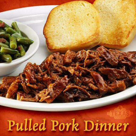 Tender, slow-cooked pork covered in our signature BBQ sauce and served with toasted fresh-baked bread.