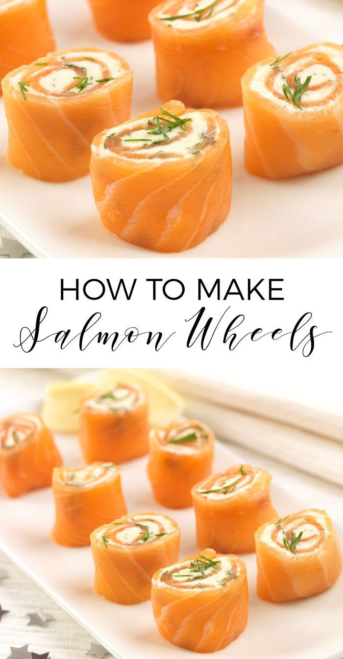 Wow these salmon wheels would make a delicious party snack for Christmas or weddings! They'd also make a lovely smoked salmon starter. A great savoury meal recipe idea!