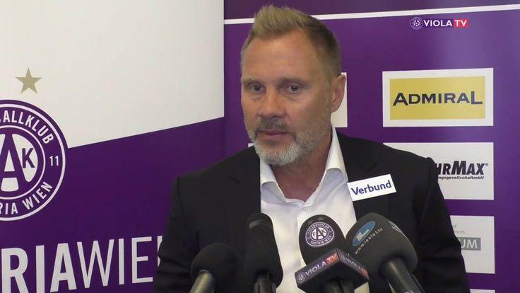 """""""Wir sind die erste Mannschaft, die bei Rapid gewonnen hat. Das steckt im Hinterkopf."""" Thorsten Fink vor dem 321. Wiener Derby."""