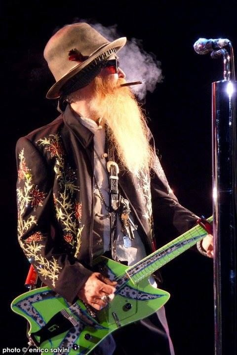 The Great Billy Gibbons, him and Frank Beard and Dusty Hill of ZZ Top playing the Mountain Winery 8/12/2014 with Jeff Beck. I am so there!!