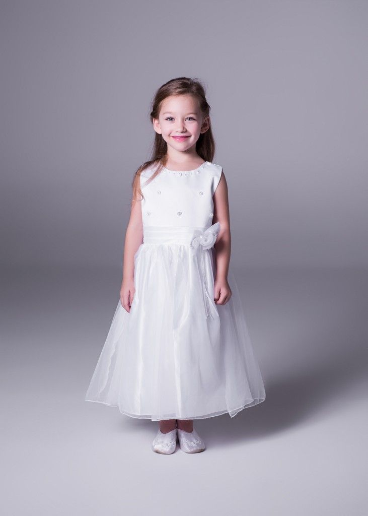 Make the flower girl at your #wedding feel like a princess with this adorable Xiaman #flowergirl dress (style 2671), only at Bride&co stores. Only R350. Click to Book a Free Fitting or View More.