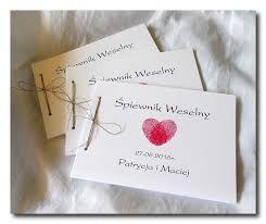 Znalezione obrazy dla zapytania śpiewnik weselny