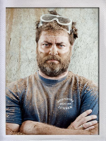 nick offerman...I find this sooo sexy :P
