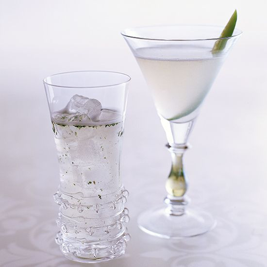 This spin on a #Cosmopolitan uses Hendrick's, a Scottish #gin that's infused with both cucumber and rose petals.