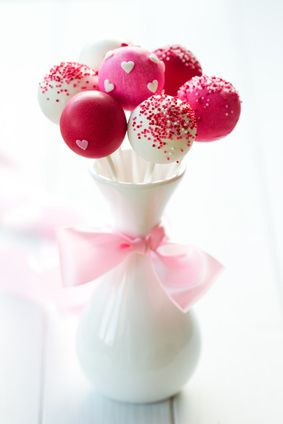 Red Velevet Cake Pops Recipe. These bite-size sweets are popular with kids and adults alike and can be served as Valentine's Day tea party food or even at a sophisticated Valentine's Day cocktail party.