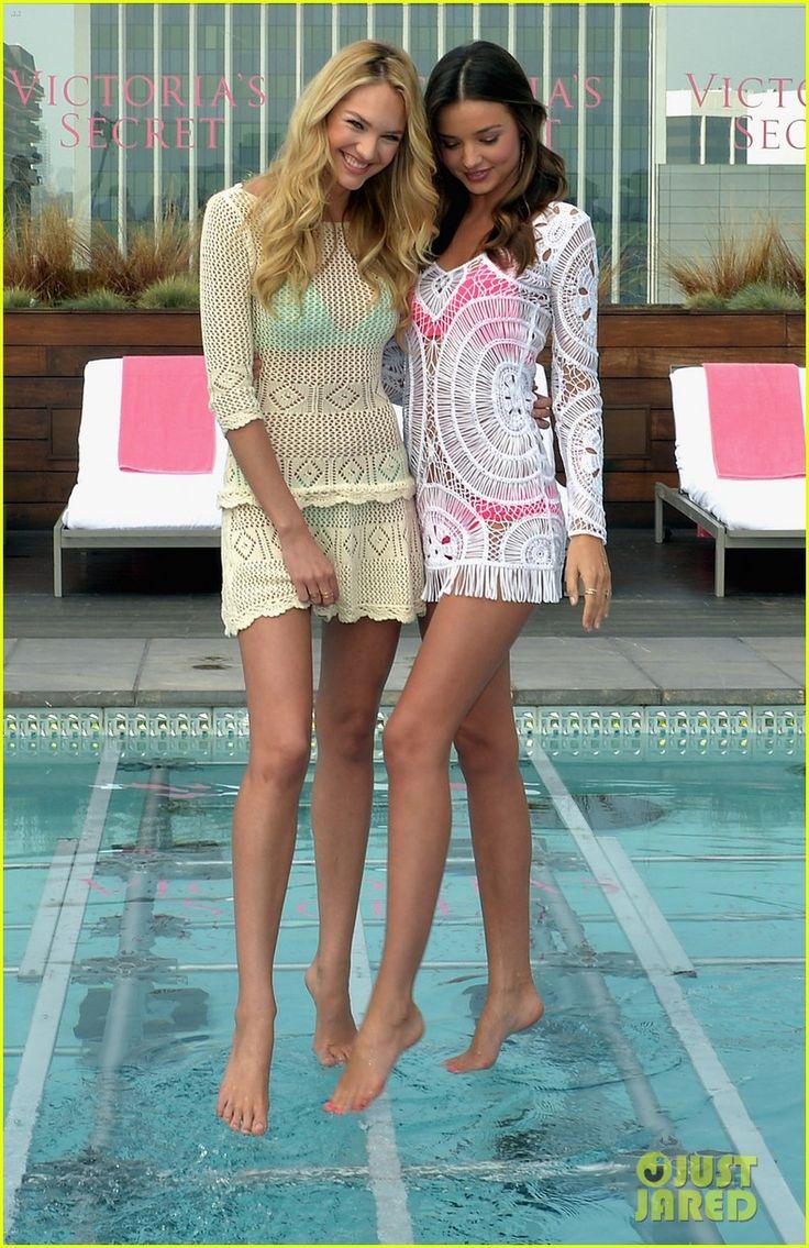 Miranda Kerr and Candice Swanepoel
