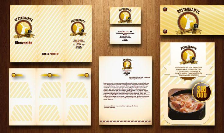 branding restaurante el venado de oro 0