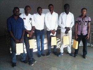 Our Flyers Distribution Team...During Flyer Distribution For New MTN Office @ WUSE 2 OMEGA CENTRE by GTBank We Not Only Share Your Flyers, w...