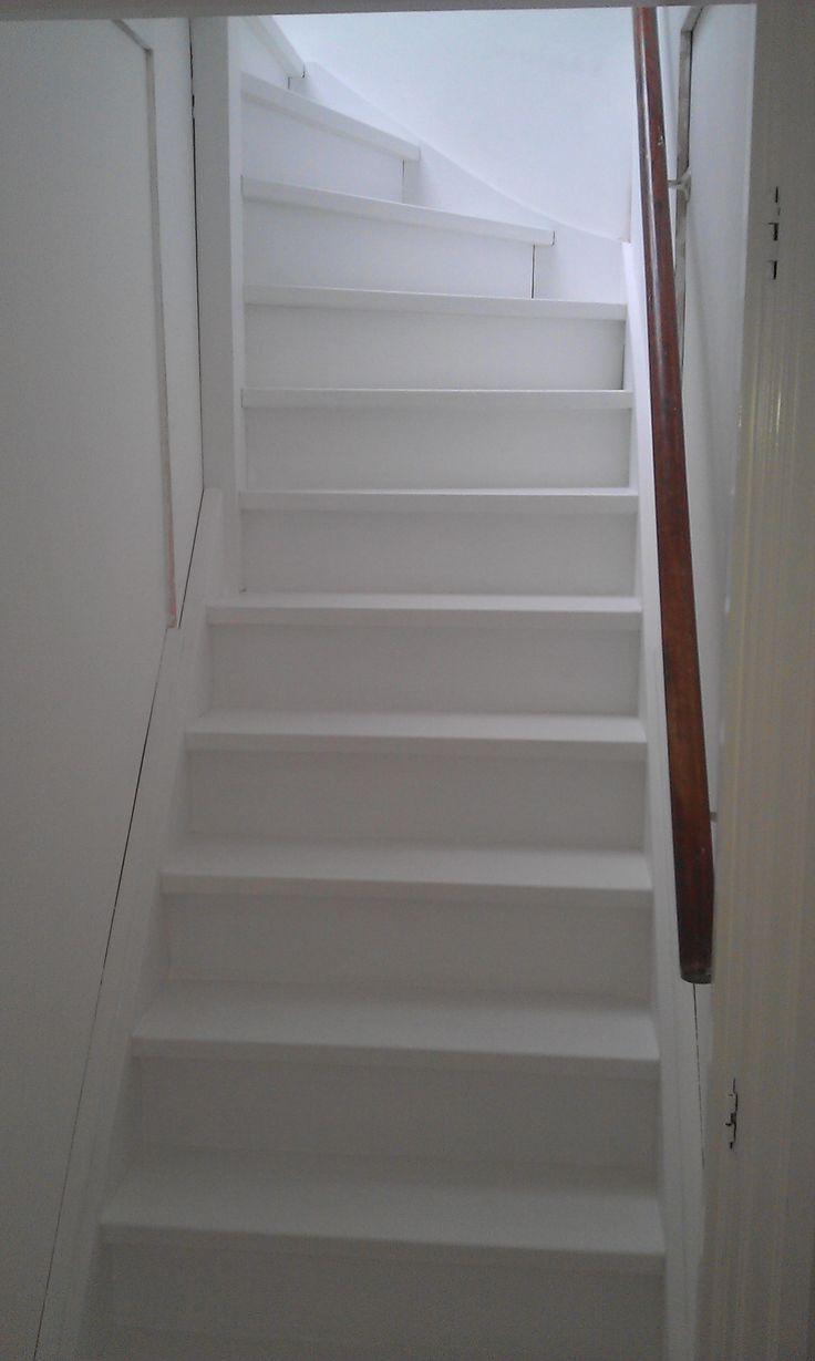 10 idee n over geschilderde trap op pinterest verf trap trappen schilderen en geschilderde - Geschilderde houten trap ...