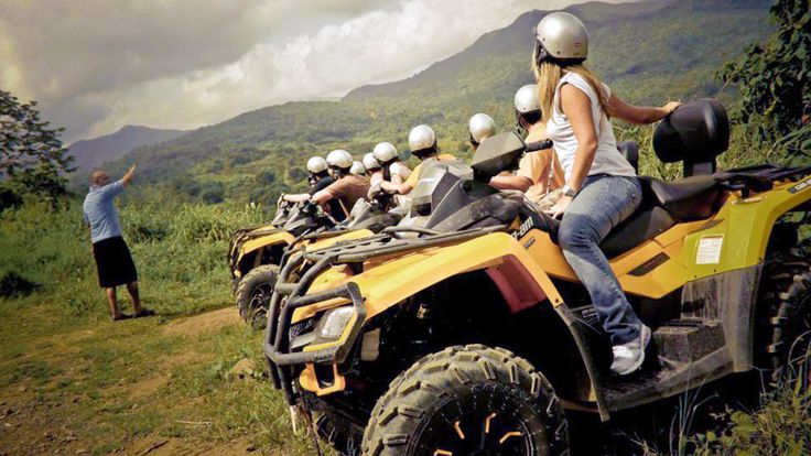 Carabalí Rainforest Park Río Grande Puerto Rico Horseback Riding Go-Kart Speed Track ATV Fourtrack Adventure Mountain Bike Canopy Zipline Corporate Restaurant Meetings Bar Grill Theme Park