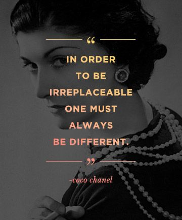 Quotes to build confidence: REPIN these words from Coco Chanel to inspire others!