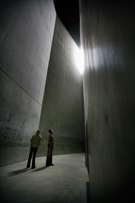 The Void - The Jewish Museum, Berlin.   Designed by Daniel Libeskind