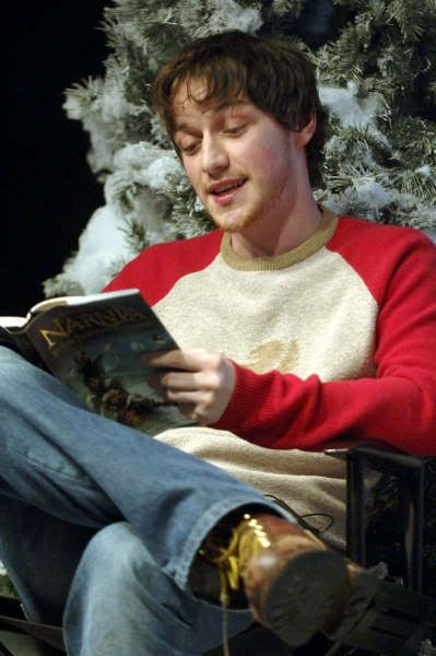 """James McAvoy reading """"Narnia"""" by CS Lewis."""