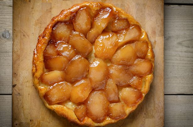 They just love a tarte tatin on MasterChef and we do too. Judge Gregg Wallace shows us how it's done with his favourite classic apple dessert recipe that's not as hard to do as you might think. This recipe shows you how to make the pastry from scratch but if you're pushed for time you can cheat and buy ready made puff pastry. If you can get your hands on an all butter version then it's the best option as it'll taste really decadent and authentic - the French wouldn't have it any other way…