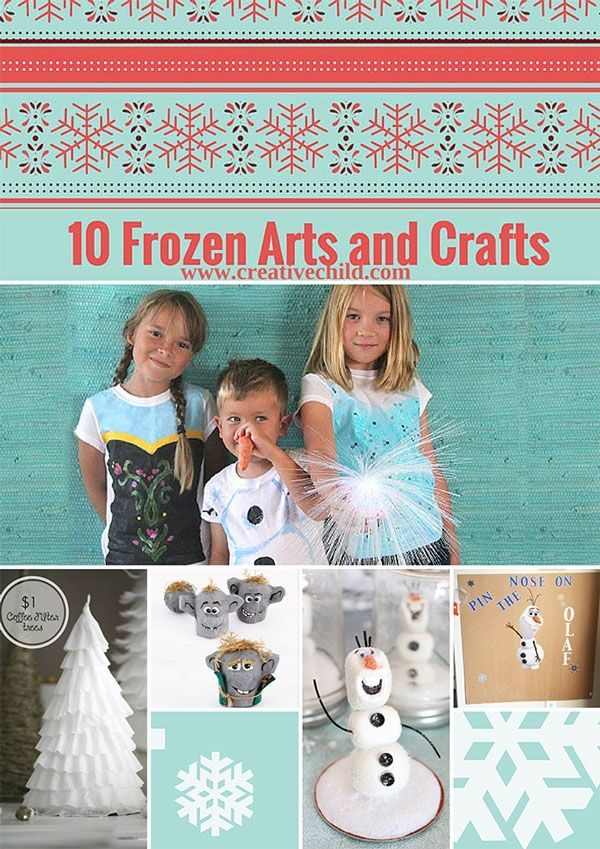 Beat the heat with these Frozen Arts and Crafts!