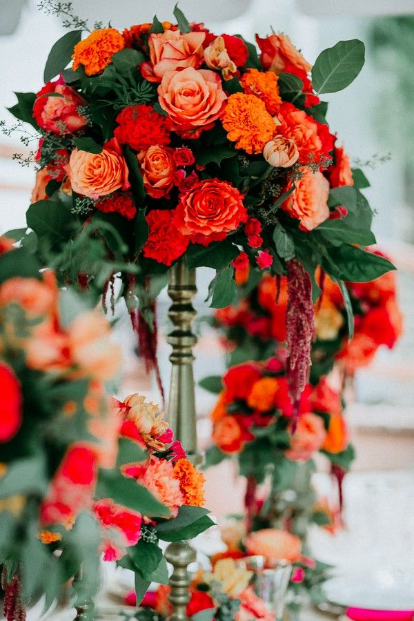 Summer Coral Styled Shoot with Ombre Details {Texas}