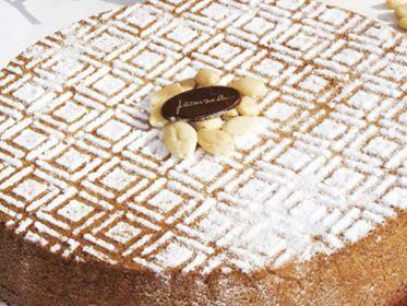 Caprese al cioccolato bianco dello chef pasticcere Salvatore De Riso