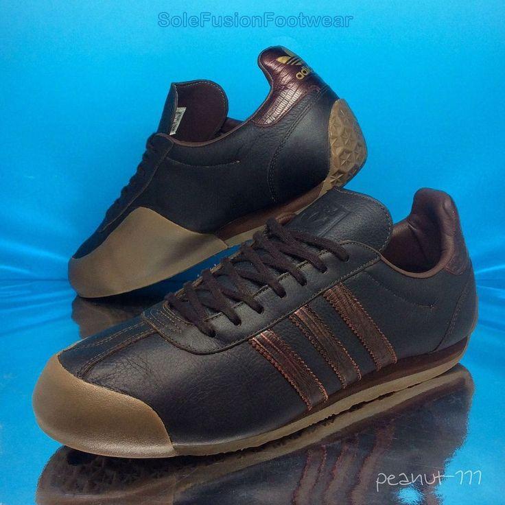 adidas Originals mens Fencing Trainers Brown sz 9 Rare Sneakers US 9.5 EU 43 1/3 | eBay