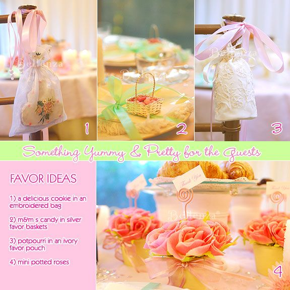 Sweet & pretty favor ideas for a Southern Belle theme, #pinkweddings #pink #pinkfavors