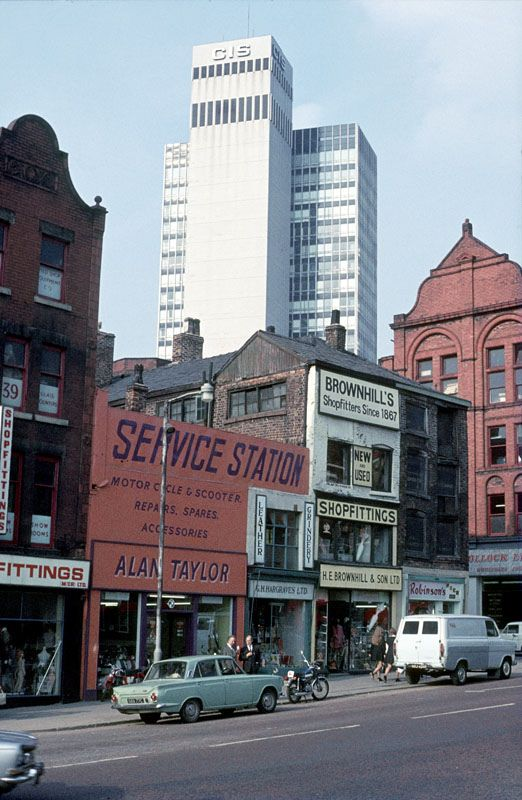 Shudehill, c. 1972 | Flickr - Photo Sharing!