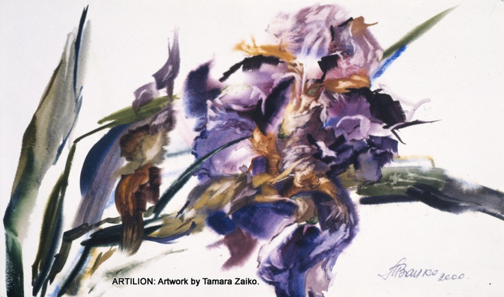 Artilion Gallery Exhibitors: Painting by Tamara Zaiko. Watercolor, Watercolor, Watercolor!