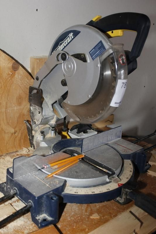 Mastercraft Mitre Saw found on MaxSold online estate sale auction.