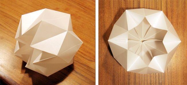 17 best ideas about abat jour papier on pinterest abat jour origami d cor - Creation abat jour papier ...