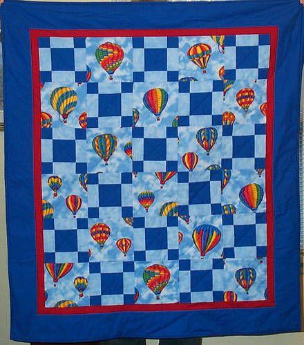 Hot air balloon quilt