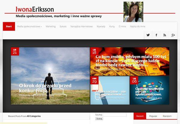 Naucz się wykorzystywać Media Społecznościowe by zdobyć nowych klientów i sprzedać więcej. Czytaj o tym na moim biznesowym blogu. http://iwonaeriksson.pl/ #socialmedia