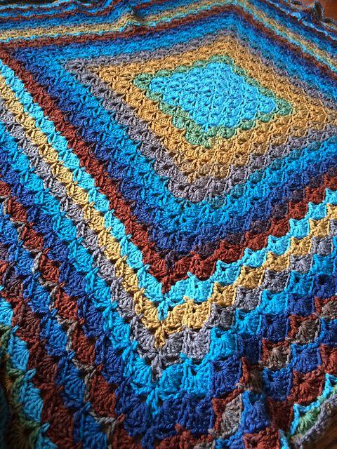 Ravelry Knittinghoneybee S Beautiful Shells Blanket