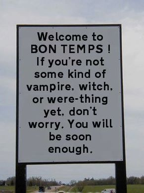 EPIC!!!!! I learned yesterday that the receptionist at my Dr.'s office is from Bon Temps and is a big TB fan :)