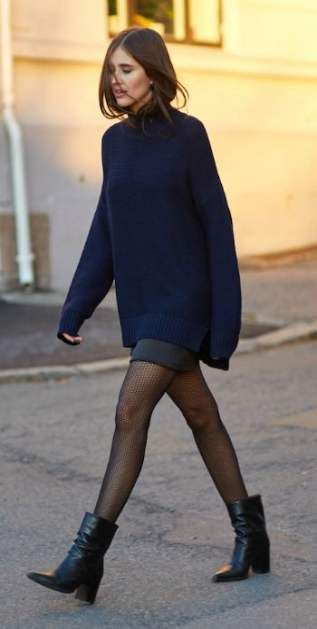 Skirt with tights and boots winter shoes 34+ Ideas